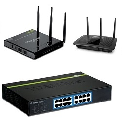 Switch, Router, Access Point